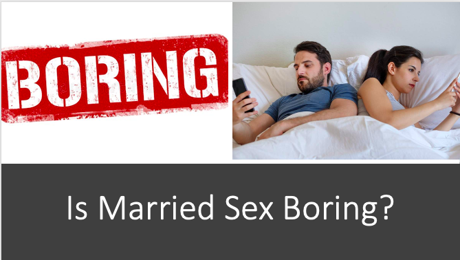 "Is Married Sex Boring? Not if You Ask ""Church Ladies"""