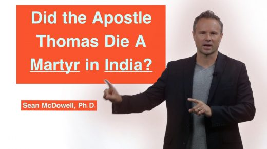 Did the Apostle Thomas Die A Martyr in India?